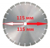 Алмазные диски 115 мм