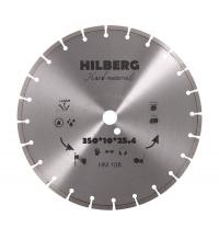 Диск алмазный 350 Сегментный Hilberg Hard Materials Лазер (ЖЕЛЕЗОБЕТОН)