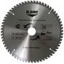 Пильный диск по алюминию 210 х 30/25,4  мм 54 зубьев D.Bor